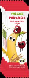 Erdbar Bio 4x Batonik Zbożowy Banan Wiśnia 1r