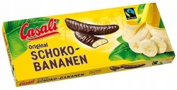 Casali Schoko Bananen Bananowe pianki w czekoladzie 300g