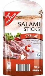 GG Pikantne Pałeczki Salami Z Pepperoni 100g z 208g mięsa