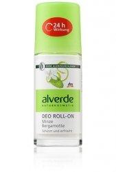 Alverde dezodorant w kulce Mięta Bergamotka
