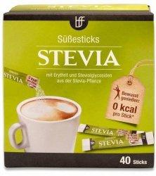 Stewia naturalny słodzik praktyczne Saszetki 40 szt DE