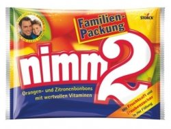 Nimm 2 Cukierki Owocowe Mega Pack 429g DE