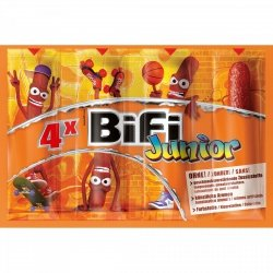BiFi Junior Kabanosy Dla Dzieci 4pack Niemcy
