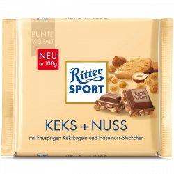 Ritter Sport Orzechy Laskowe Kruche Keksy Ciasteczka