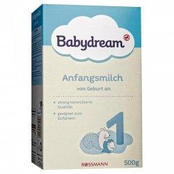 BabyDream 1 mleko początkowe od urodzenia 500g