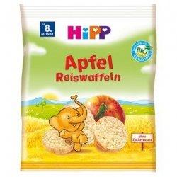 Hipp Bio Wafelki Ryżowe z Sokiem Jabłkowym 8m 30g