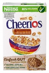 Nestle Multi Cheerios Pełnoziarniste Oponki Do Mleka 375g