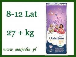 Pampers Pieluchomajtki dla dziewczynki od 27+kg 8-12lat
