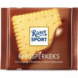 Ritter Sport Knusperkeks Czekolada Keks Krem Kakaowy 100