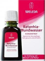 Weleda koncentrat płyn do płukania z Ratanią DE