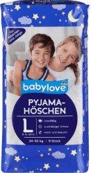 Pieluchomajtki dla dziewczynki 24-50 kg 8-12lat