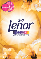 Lenor proszek prania kolorowych Goldene Orchidee 2w1 18p
