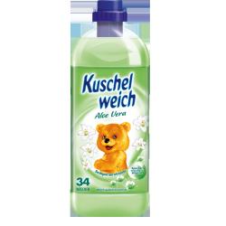 Kokolino płyn płukania Kuschelweich Aloe Vera 1l Zielone DE