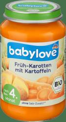 Babylove Bio obiadek Marchew Ziemniaki 4m 190g