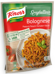 Knorr Makaron z mięsem w sosie Bolognese 2 porcje