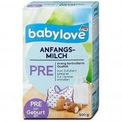 Babylove PRE Mleko początkowe od urodzenia 500g