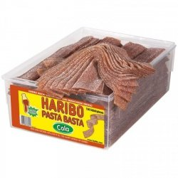 Haribo Pasta Basta Kwaśne Paski Cola Wege 150szt