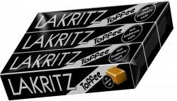 3x Lakritz Toffee Karmelki Lukrecja Toffee Niemcy