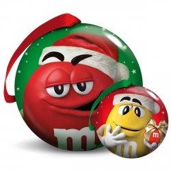M&M`s Zawieszka Bombka Metalowa Wigilia Święta
