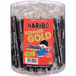 Haribo Bonner Gold Lakritz Lukrecja 15cm 150szt DE