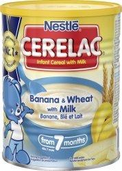 Nestle Cerelac kaszka mleczna bananowa 7m 400g