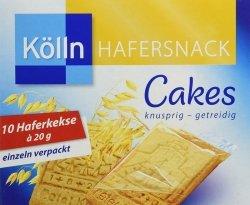 Kolln Pełnoziarniste Ciasteczka Owsiane 200g Niemcy