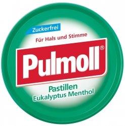 Pulmoll Eukaliptus Cukierki B/Cukru Wegan