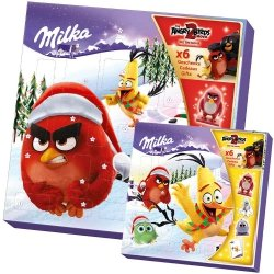 Milka Kalendarz Adwentowy Mikołajki Angry Birds
