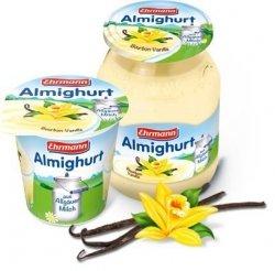 Ehrmann Almighurt Jogurt Wanilia Burbon Słoik 500ml