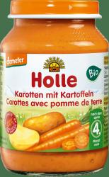 Holle Bio obiadek Ziemniaczki Marchewka 4m 190g