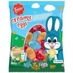 Friedel Wielkanocne Jajka Mix Pomarańcza Truskawka Mleko