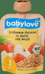 Babylove Musli Tubka Truskawka Banan Jabłko 1r 90g