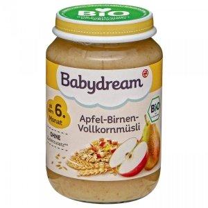 BabyDream Bio musli owocowe Jabłko Gruszka 6m 190g