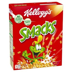 Kellogg's Smacks Pszenne Miodowe Płatki Do Mleka 330
