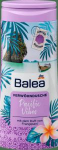 Balea Pacific Vibes Żel Prysznic kwiat Frangipani Wegan 300ml