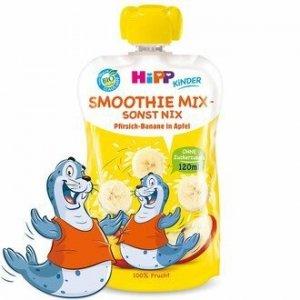 Hipp Smothie Drink Brzoskwinia Banan Jabłko 1r 120ml