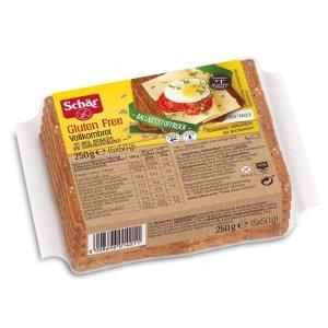 Schar Pełnoziarnisty chleb Bez Glutenu Laktozy 250g