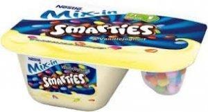 Smarties Kolorowe Draże Z Jogurtem Waniliowym NEW