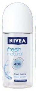 Nivea Antyperspirant w kulkce Fresh Natural DE