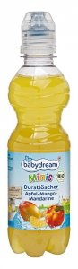 BabyDream Bio Sok Jabłko Mango Mandarynka z Wodą 330ml