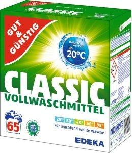 GG Niemiecki Proszek prania ubrań białych 65