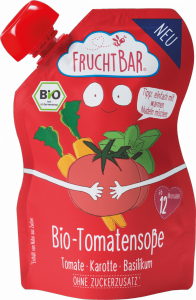 FruchtBar Bio Sos Pomidorowy do Makaronu Kasz 190g