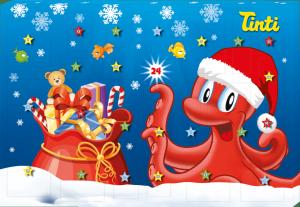 Tinti Kalendarz Adwentowy Dzieci Tatoo 2020