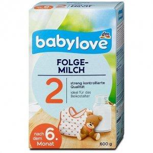 Babylove 2 Mleko następne od 6 miesiąca 600g