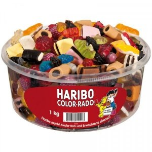 Haribo Color Rado Mix Smaków Kształtów 1kg DE