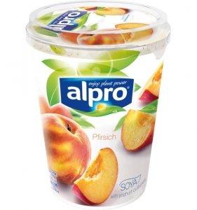 Alpro Aksamitny Jogurt Sojowy Brzoskwiniowy Bez Laktozy