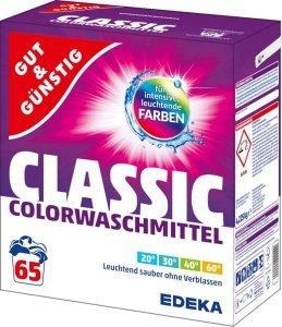 GG Niemiecki proszek do prania ubrań kolorowych 4,225kg 65p