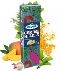 Meggle Masło Ziołowe Mango Curry i Rozmaryn 5x20g