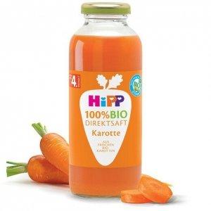 Hipp Bio Sok 100% Marchewka Witamina C 4m 200ml