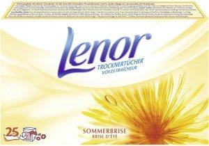 25x Lenor Sommerbrise chusteczki zapachowe DE